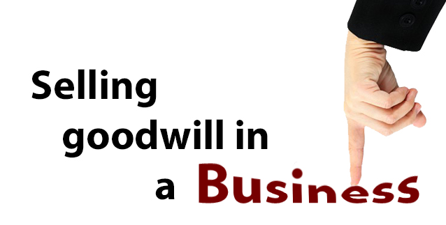 Selling Goodwill in a Business